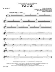 Fall on Me (from The Nutcracker and the Four Realms) (arr. Mac Huff) - Bb Trumpet 1
