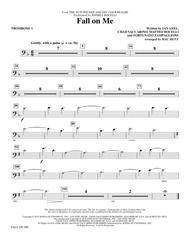 Fall on Me (from The Nutcracker and the Four Realms) (arr. Mac Huff) - Trombone 1