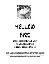 Yellow Bird for Steel Drum