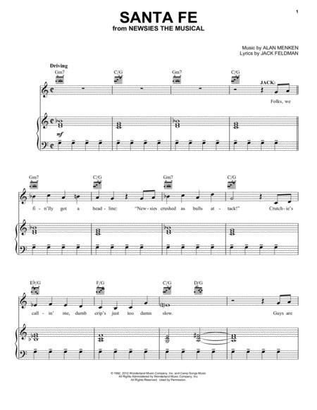Santa Fe (from Newsies: The Musical)