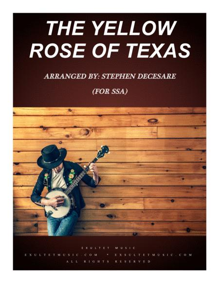The Yellow Rose Of Texas (for SSA)