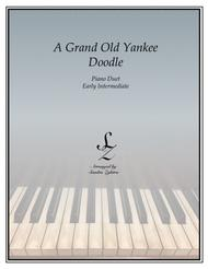 A Grand Old Yankee Doodle (1 piano, 4 hands duet)
