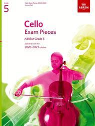 Cello Exam Pieces 2020-2023, ABRSM Grade 5, Score & Part