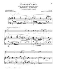 Francesca's Aria (from Francesca da Rimini)