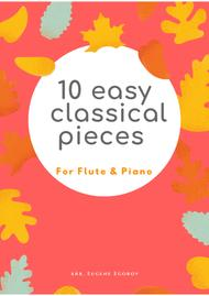 10 Easy Classical Pieces For Flute & Piano