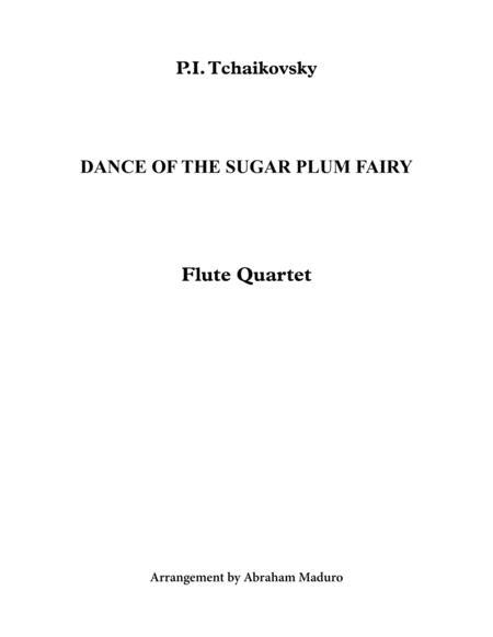 Dance Of The Sugar Plum Fairy Flute Quartet
