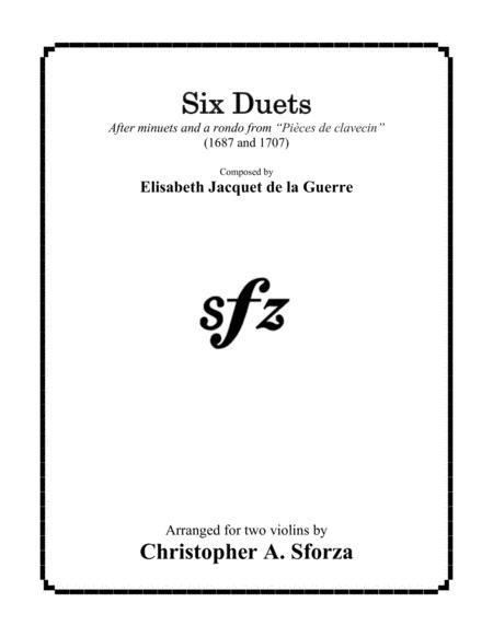 Six Duets after La Guerre