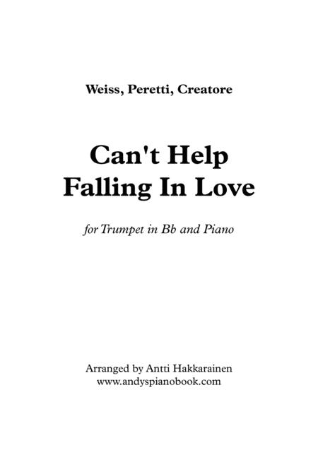 Can't Help Falling In Love - Trumpet & Piano