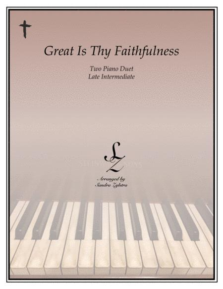 Great Is Thy Faithfulness (2 piano duet)