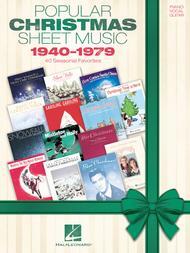 Popular Christmas Sheet Music: 1940-1979