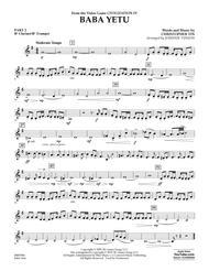 Baba Yetu (from Civilization IV) (arr. Johnnie Vinson) - Pt.2 - Bb Clarinet/Bb Trumpet