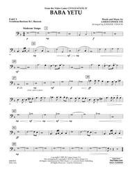 Baba Yetu (from Civilization IV) (arr. Johnnie Vinson) - Pt.5 - Trombone/Bar. B.C./Bsn.
