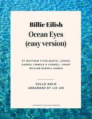 Ocean Eyes (easy version)