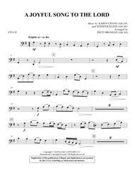 A Joyful Song to the Lord (arr. Patti Drennan) - Cello
