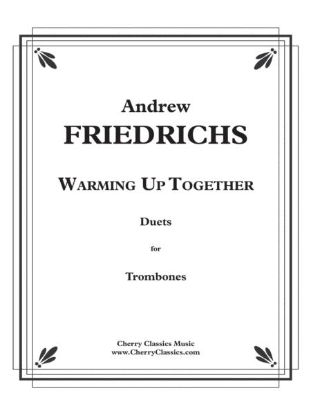 Download Warming Up Together, 40 Fun Duets For Trombone