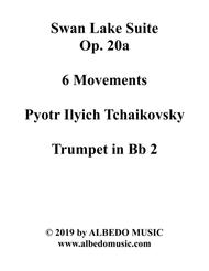 Swan Lake Suite, 6 Movements and 8 Movements - Trumpet in Bb 2 (Transposed Part)