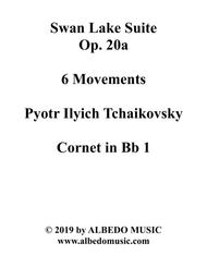 Swan Lake Suite, 6 Movements - Cornet in Bb 1 (Transposed Part)