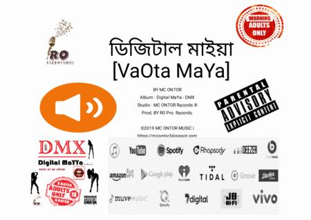 VaOta MaYa BY Mc Ontor \| Bangla HIP-HOP Music