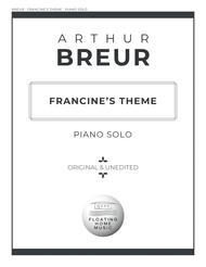 Francine's Theme - Piano Solo