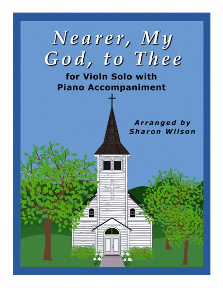 Nearer, My God, to Thee (Easy Violin Solo with Piano Accompaniment)