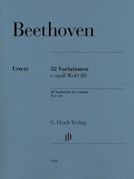 32 Variations in C minor, WoO 80