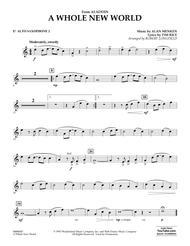 A Whole New World (from Aladdin) (arr. Robert Longfield) - Eb Alto Saxophone 2