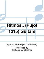 Ritmos.. (Pujol 1215) Guitare