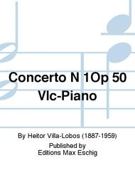Concerto N 1Op 50 Vlc-Piano