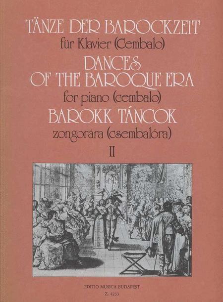 Tanze der Barockzeit II