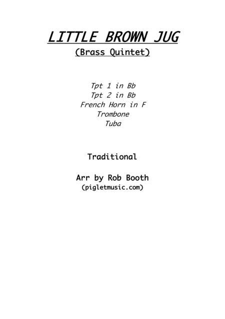 Little Brown Jug - Brass Quintet