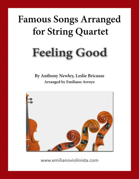 Feeling Good by Nina Simone for string quartet