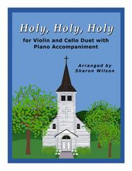 holy, holy, holy (easy violin and cello duet with piano accompaniment) by  john bacchus dykes - digital sheet music for score,set of parts - download  & print s0.600565   sheet music plus  sheet music plus