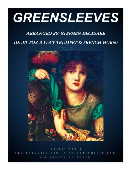 Greensleeves (Duet for Bb-Trumpet and French Horn)