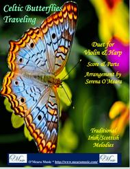 Celtic Butterflies Traveling for Violin & Pedal Harp