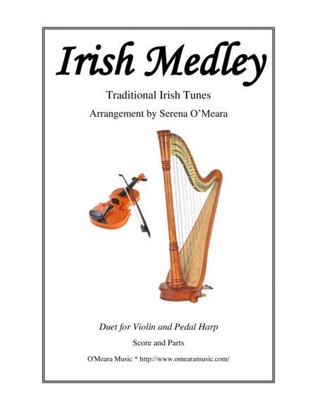 Irish Medley for Violin & Pedal harp