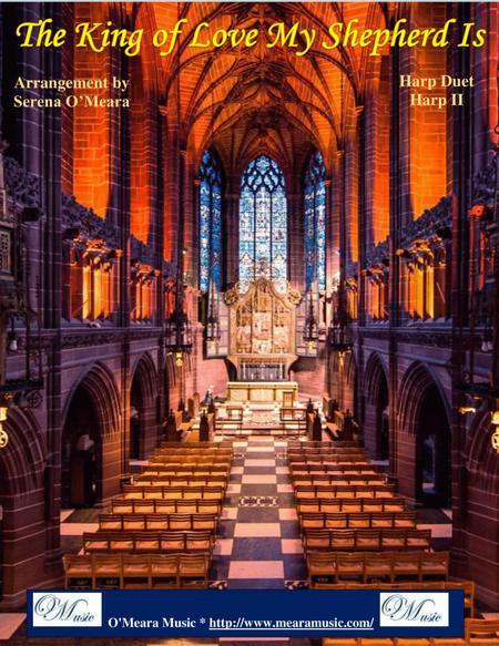 The King of Love My Shepherd Is, St Columba, Harp II