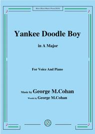 George M. Cohan-Yankee Doodle Boy,in A Major,for Voice&Piano