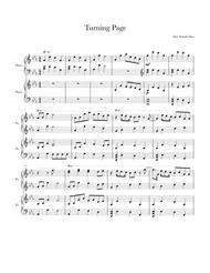 Turning Page- Piano Duet