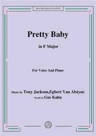 Tony Jackson,Egbert Van Alstyne-Pretty Baby,in F Major,for Voice&Piano