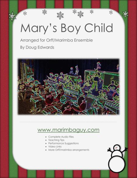 Mary's Boy Child as sung by Glee and Boney M