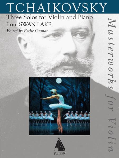 Three Solos for Violin and Piano from Swan Lake