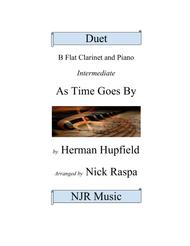 As Time Goes By (B Flat Clarinet & Piano) intermediate