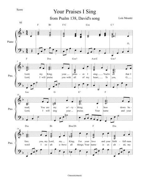 Your Praises I Sing