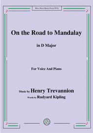 Henry Trevannion-On the Road to Mandalay,in D Major,for Voice&Piano