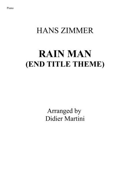 Rain Man (End Title Theme)