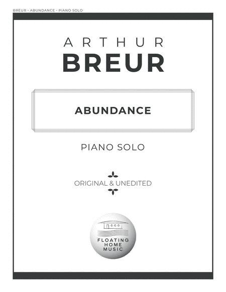 Abundance - Piano Solo