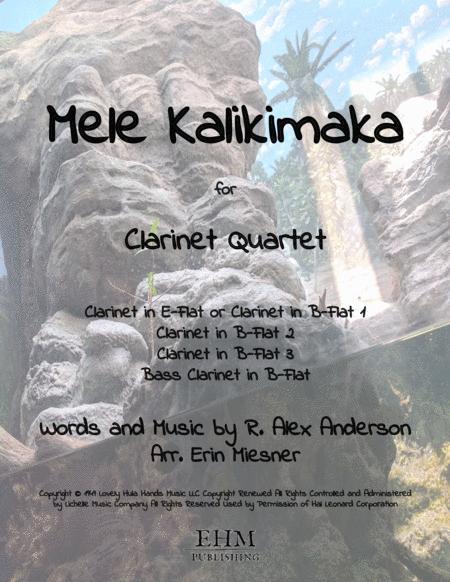 Mele Kalikimaka for Clarinet Quartet