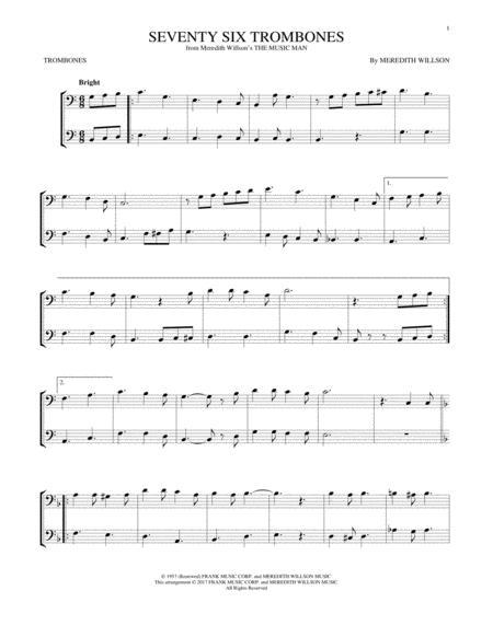 Seventy Six Trombones (from The Music Man)