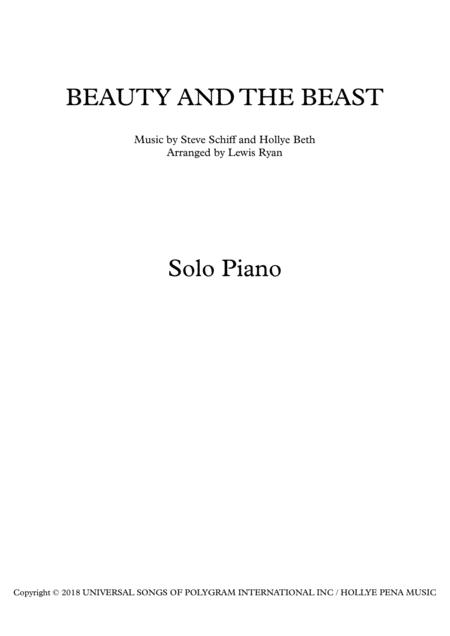 Beauty And The Beast (Advanced)