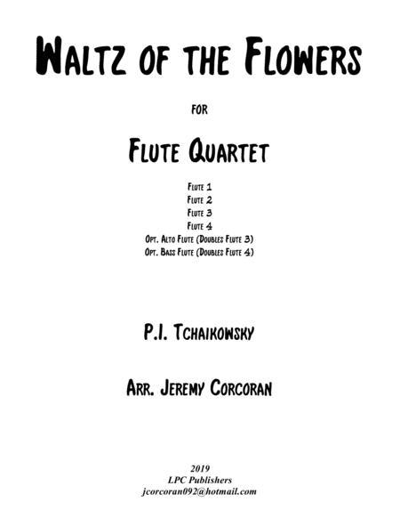 Waltz of the Flowers from The Nutcracker for Flute Quartet